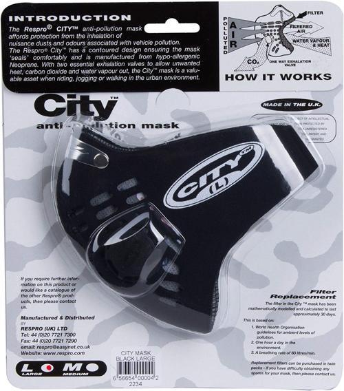 Maschera antismog Respro City